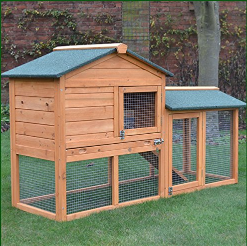 How to design an inspirational rabbit hutch invoke delight for Outdoor guinea pig hutch