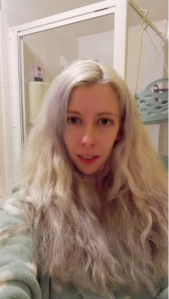 Silver hair - No I don't wear extensions!