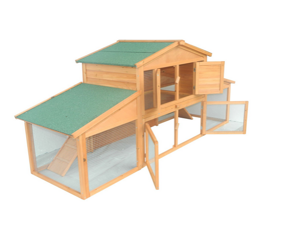 Download Large Rabbit Hutch Design Plans Diy Plans Octagon
