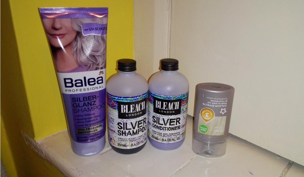silver shampoos