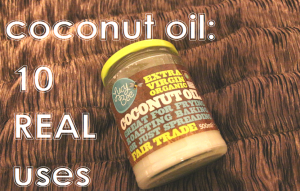 10 real uses coconut oil