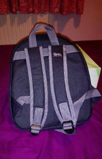 Lonsdale mini backpack rear view
