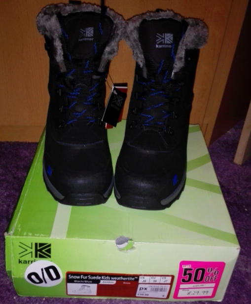 snow boots karrimor waterproof