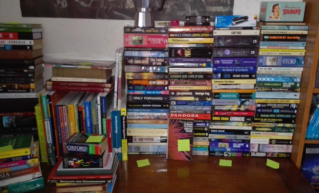 230 books decluttering minimalism