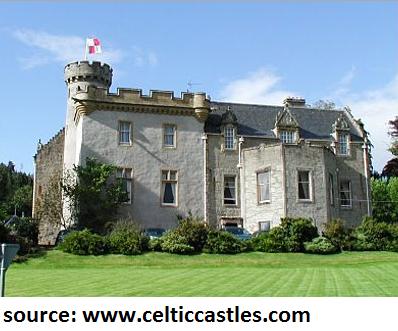 castle hotel scotland holiday travel trip