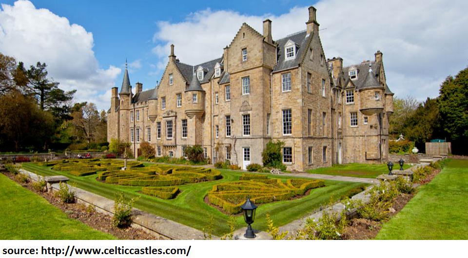 castle hotel scotland accommodation