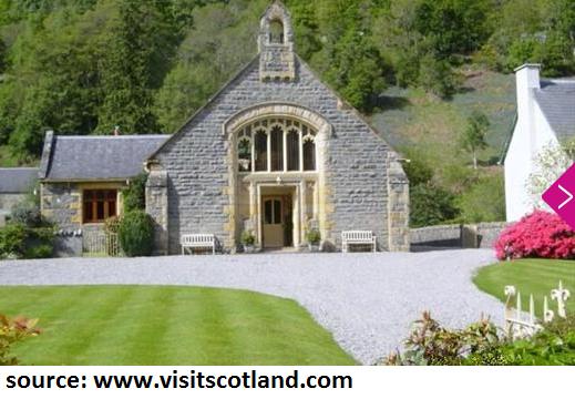 drumnadrochit church hotel acccommodation loch ness holiday in scotland