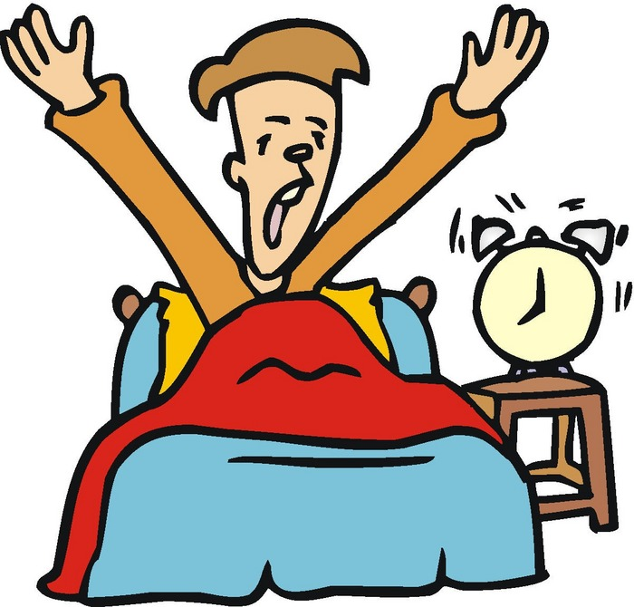 getting up How to get out of bed in the morning alarm