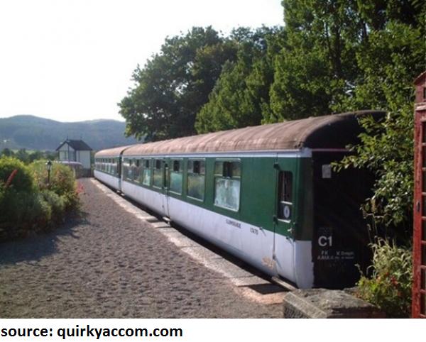 train hotel Scotland UK