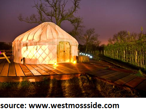 stay in a yurt in scotland on your next holiday
