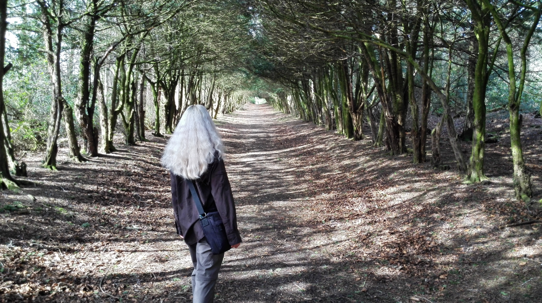 white hair elven in nature
