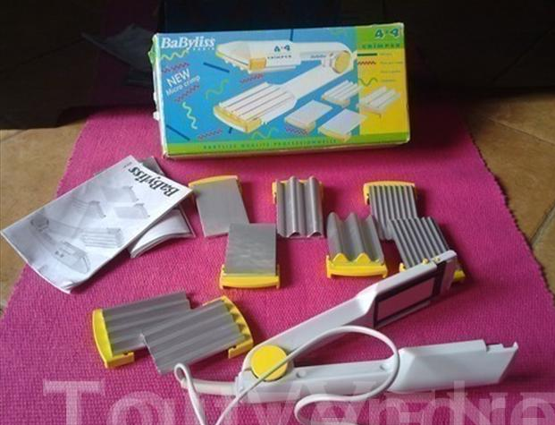 The BaByLiss 4X4 crimpers in all their glory.  Source: www.toutvendre.fr