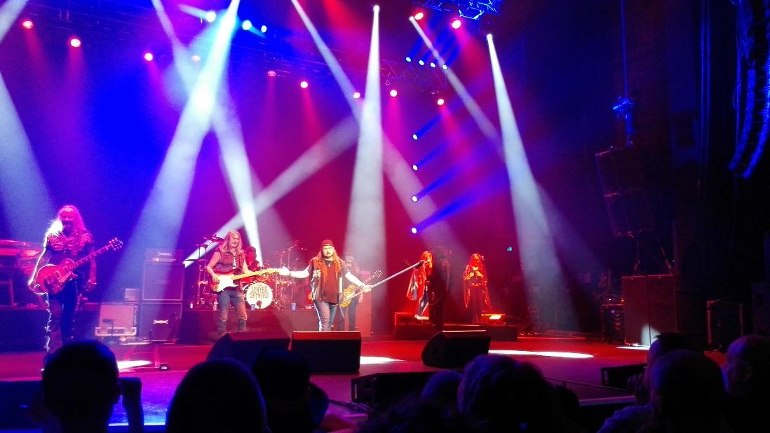 Lynyrd Skynyrd in concert Manchester April 22nd 2015 Johnny Van Zant