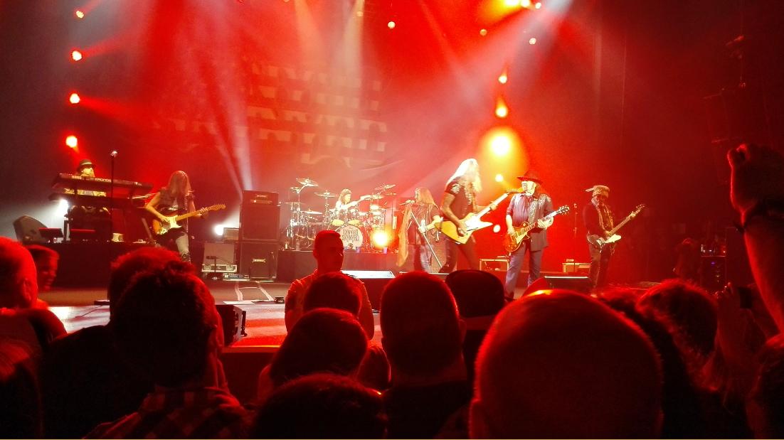 Lynyrd Skynyrd in concert Manchester April 22nd 2015
