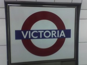 The underground tube network: One of London's redeeming features.