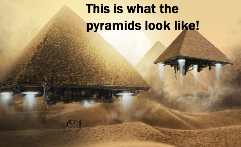 This is exactly what you will see if you go to Egypt.