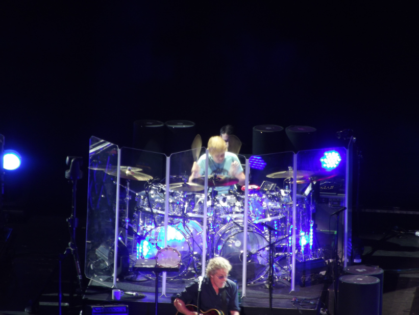 Zak Starkey, drummer for The Who, replaced Keith Moon.