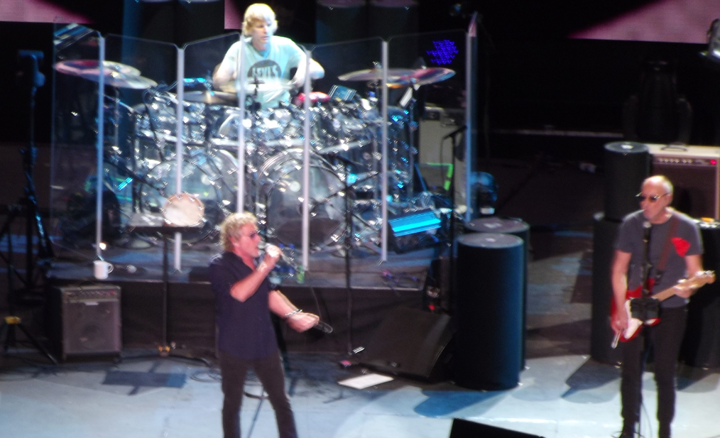 The Who in Focus live Dublin tour