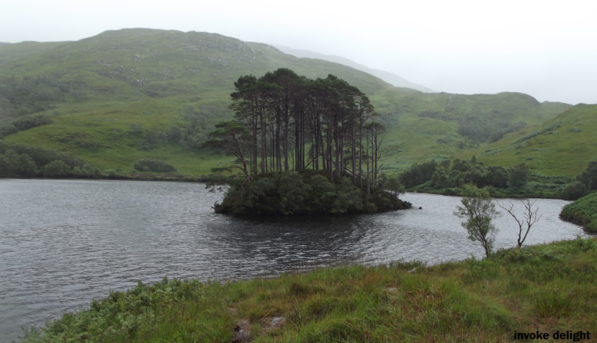 Loch Eilt, resting place of Dumbledore