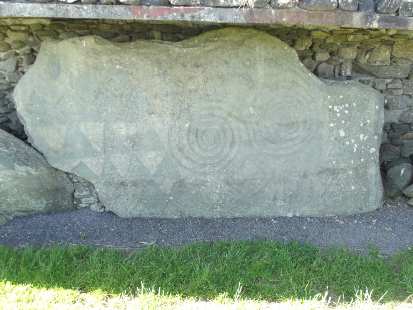 "Many of the rocks were carved in the Neolithic, into intricate patterns that many call ""Celtic."""