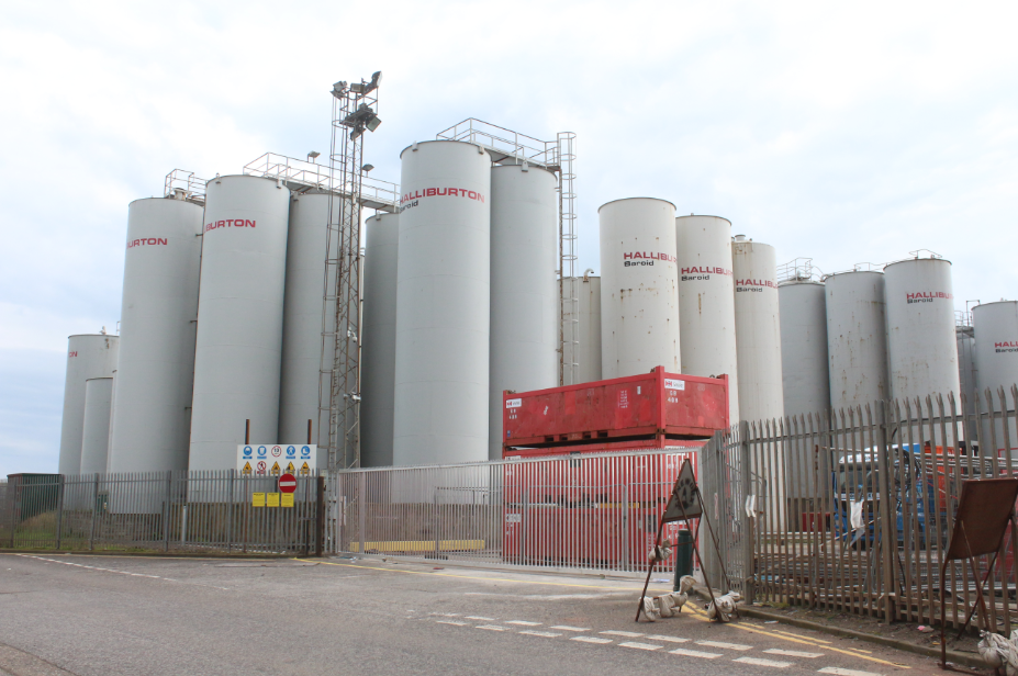 Some containers looking very tall and thin.