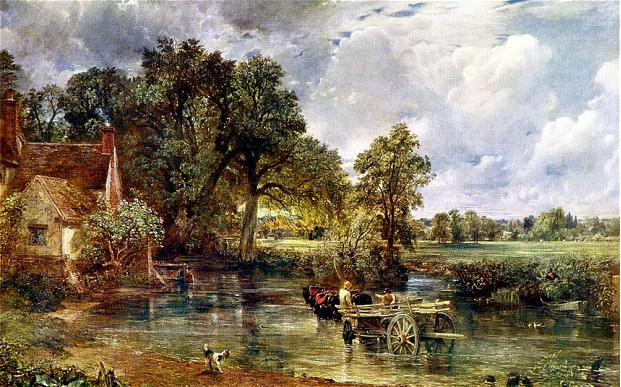 The Hay Wain by Constable