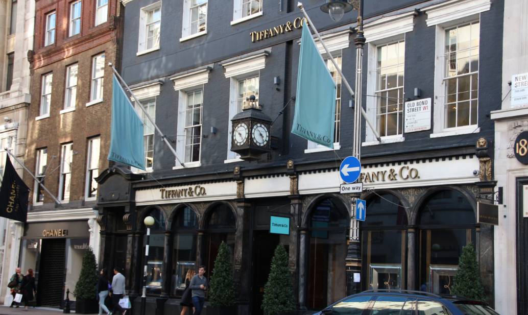 ALL.  OF.  THE.  WILL.  POWAH.  Tiffany and Co Old Bond Street London.