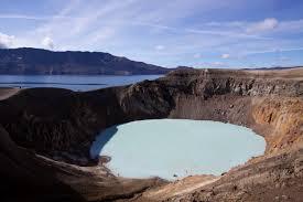 askja volcano lake
