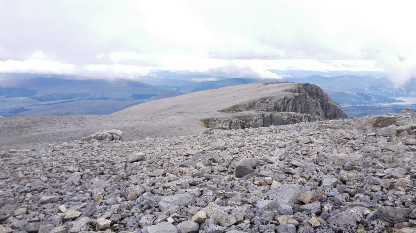 Carn Dearg (the mountain next to Ben Nevis) from Ben Nevis