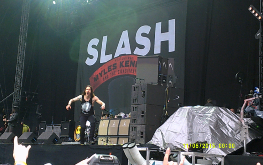 Myles Kennedy at Download 2015.