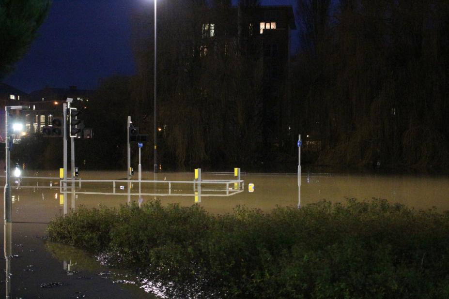 York floods december 2015 foss islands road