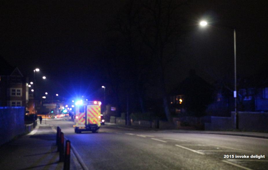 York floods 2015 drama ambulance lost roads closed
