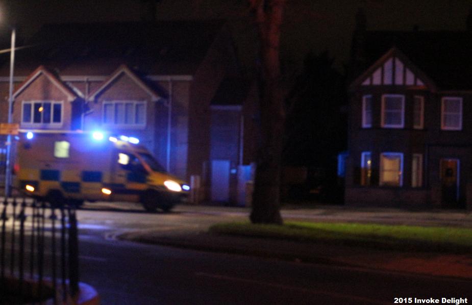York floods 2015 ambulance lost stranded danger death