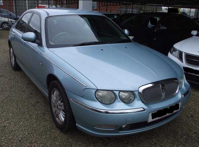 Rover 75 light blue