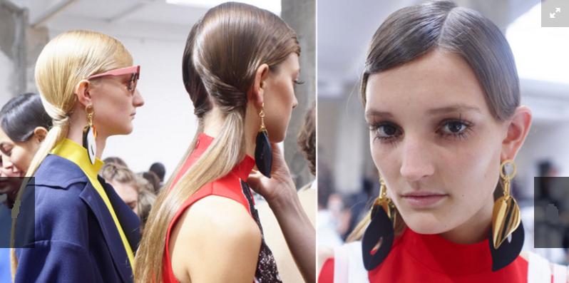 make up trends 2016 long eyelashes catwalk fashion