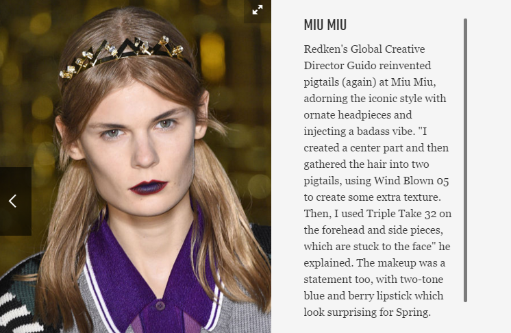 make up trends 2016 lips color pop blueberry catwalk fashion