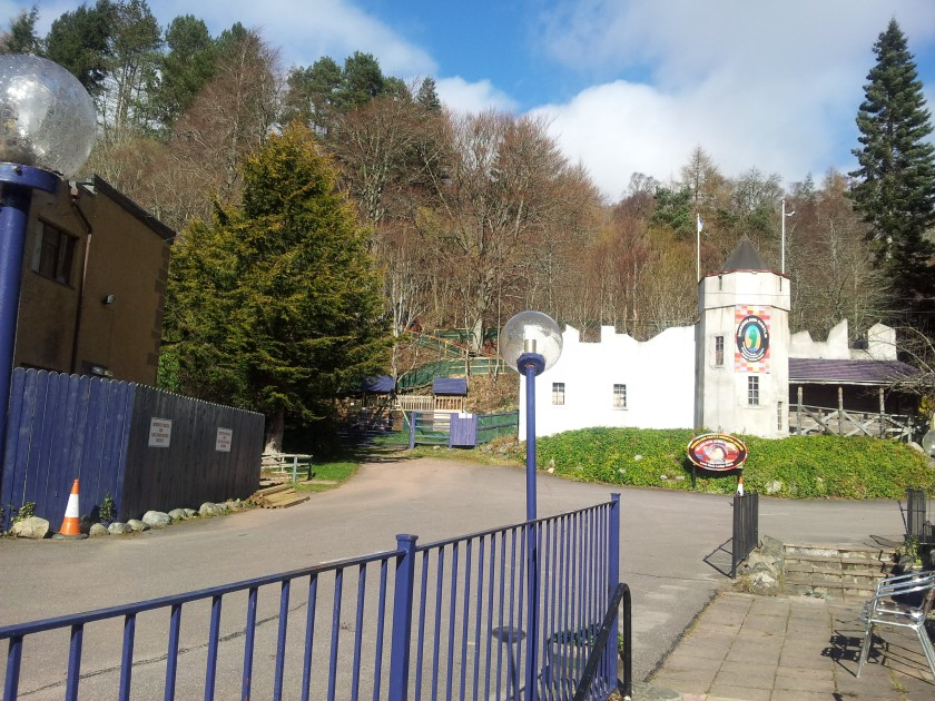 The Loch Ness Monster Centre, Drumnadrochit, was closed when we went.