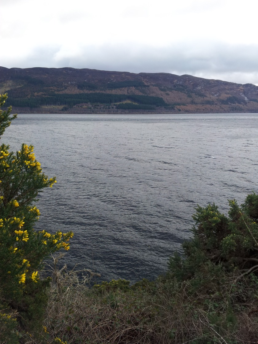 Loch Ness after Drumnadrochit.