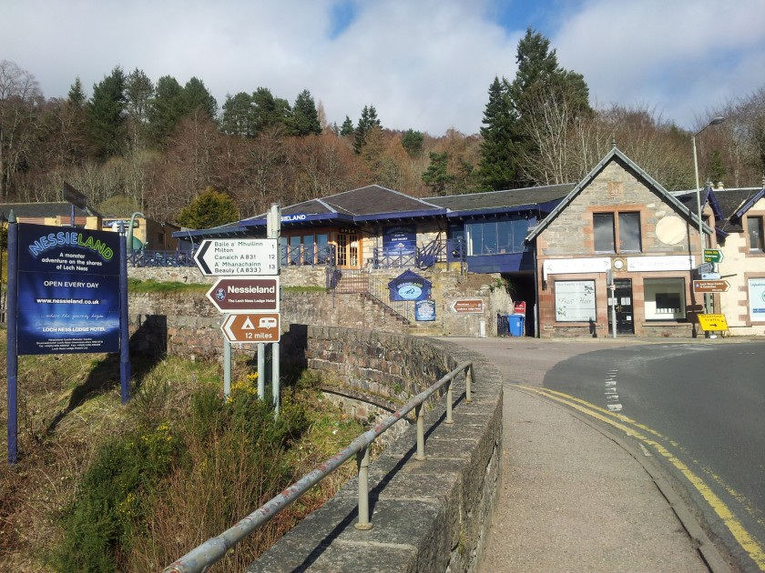 Nessieland visitor centre scotland drumnadrochit Loch Ness