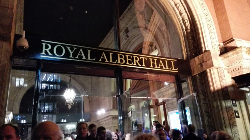 Bob Dylan concert London 2015 Royal Albert Hall