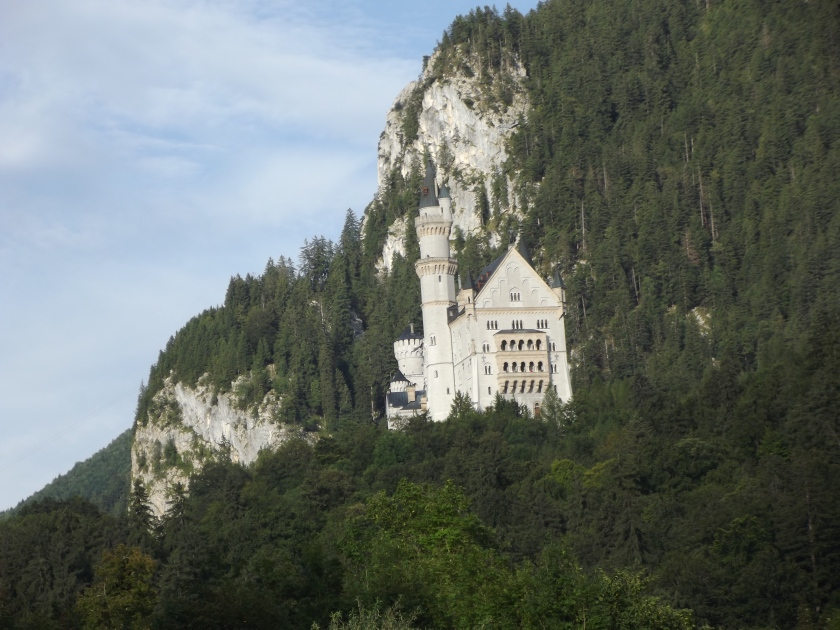 Neuschwanstein castle, Schwangau, Germany.