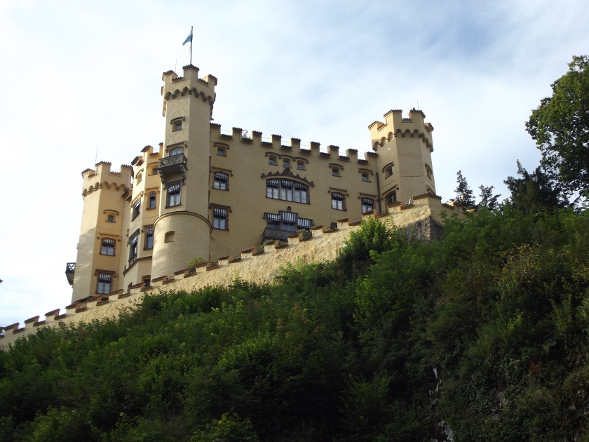 Castle Hohenschwanstein, Schwangau, Germany, August 2014.