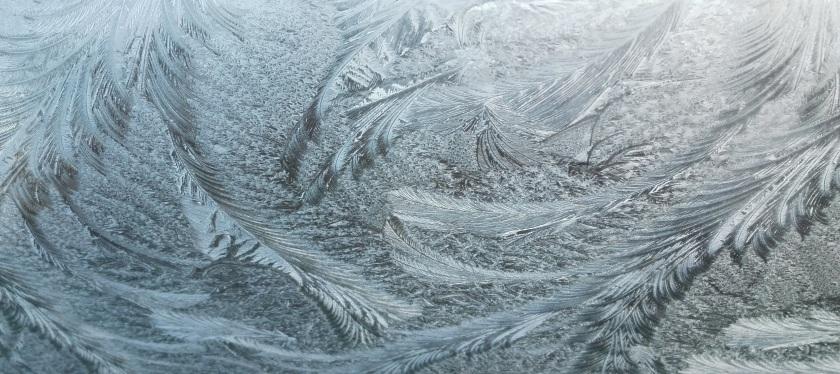 Frost pattern ice Jack Frost