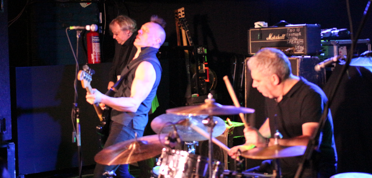 The Membranes band Leeds 3rd March 2016 The Wardrobe.