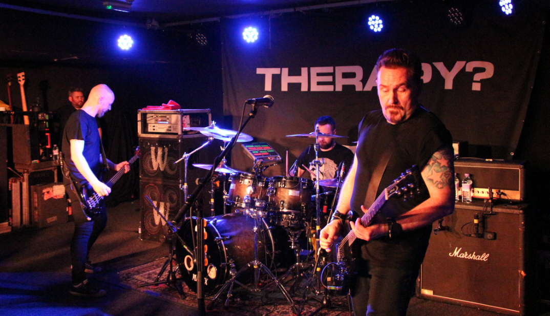 Therapy? band 2016 3rd March Leeds The Wardrobe