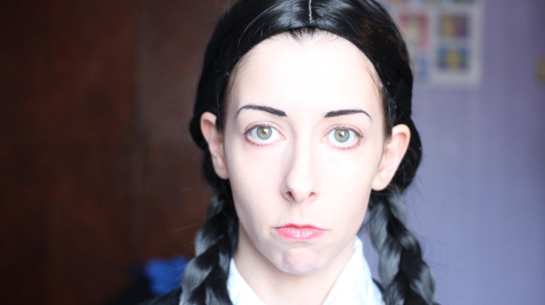 Wednesday Addams cosplay tutorial