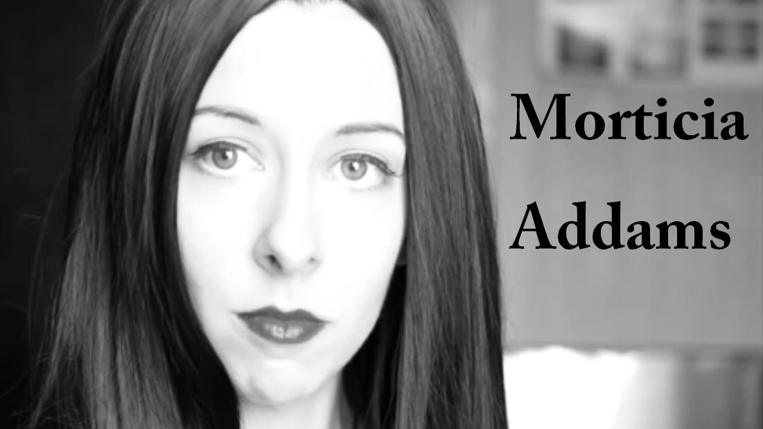 Morticia Addams Carolyn Jones Tutorial The Addams Family
