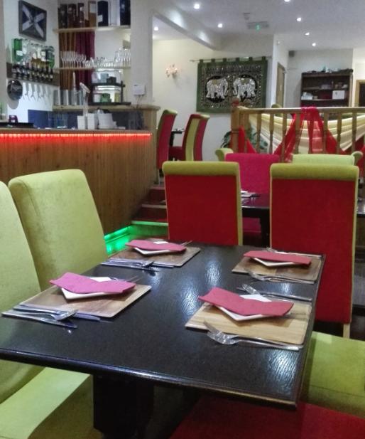 Cafe Mango, Thai and Indian Restaurant Fort William, Highlands, Scotland.