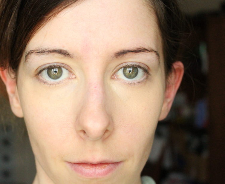 Left, MAC Pro Longwear concealer shade NC20, right, Maybelline Instant Anti Age The Eraser Eye review compare