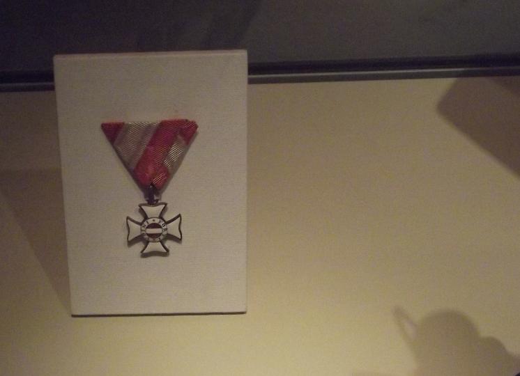 Gottfried von Banfield's Order of Maria Theresa